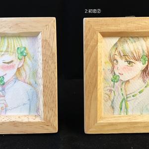 【ミニ原画】初恋×クローバー