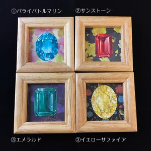 【ミニ原画】宝石標本(メルメリィマーケットvol.10)