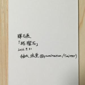 【コピックATC原画】ガーネット×石榴★送料無料
