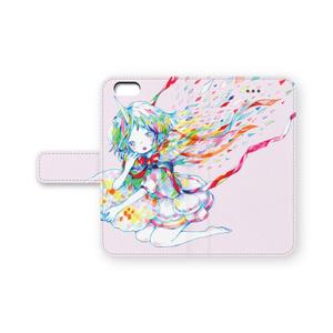 手帳型iPhoneケース・ツノっこ(pixivFACTORY)
