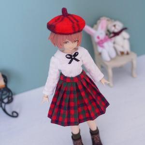 NO.83 ベレー帽とスカートのセット