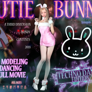 CUTIE BUNNY techno dance edition