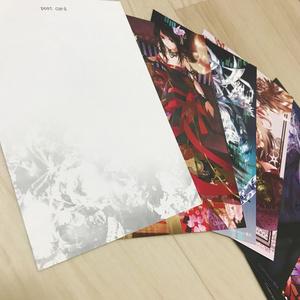 【CROSS】オリジナルポストカード6種セット【BOOTH限定】