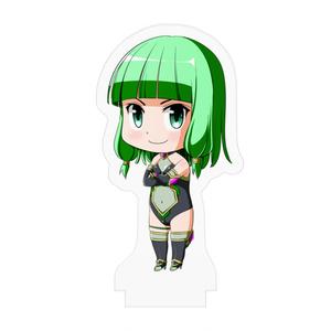四葉の戦姫クローバーローゼ  人造戦姫ラズリ デフォルメアクリルフィギュア