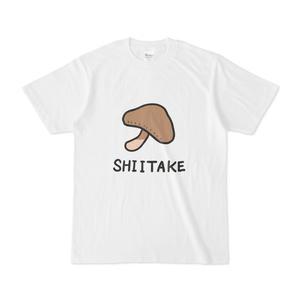 きのこダサTシャツ(しいたけ)