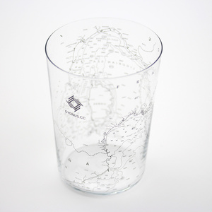 [CYGNUS.CC] Nautical chart Tumbler