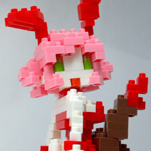 nanoblock de Bunny Girl