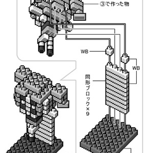 nanoblock de P.P.G DL版
