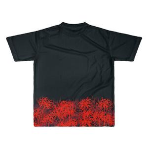 【赤】彼岸花シャツ(太幅)