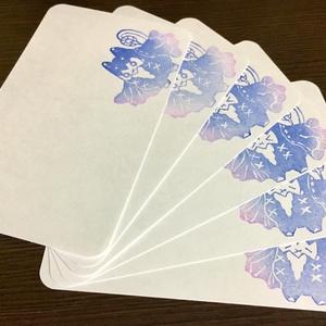 【あんしんBOOTHパック】ヨルノロンドのメッセージカード
