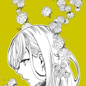 散らし用シンプル花詰め10種+ヒナギク2種(コミックスタジオ用)おまけつき