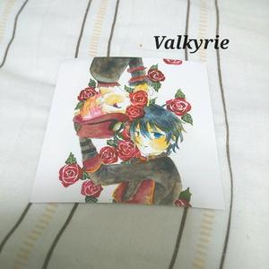 ポストカード「Valkyrie」
