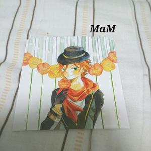 ポストカード「MaM」