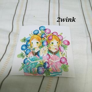 ポストカード「2wink」