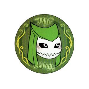 異形の魔女・缶バッジセット