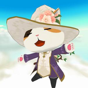【アイテム】八重桜のコサージュ