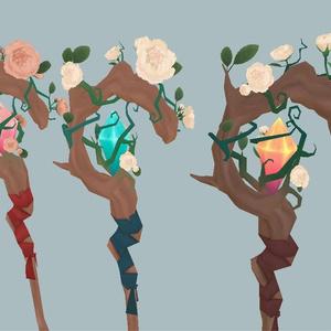 【アイテム】バラの杖