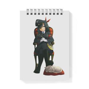 暇劇、柊りん(軍服:メモ帳)
