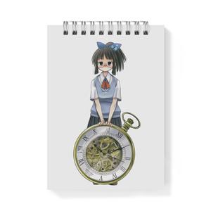 暇劇、柊りん(夏制服:メモ帳)
