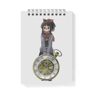 暇劇、柊りん(冬制服:メモ帳)