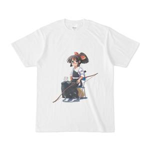 暇劇、柊りん(弓道着C:Tシャツ)
