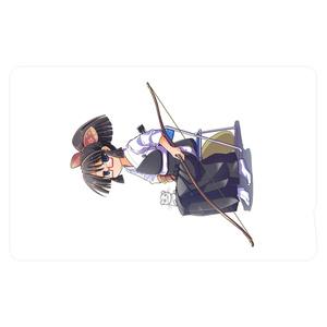 暇劇、柊りん(弓道着C:ICカードステッカー)