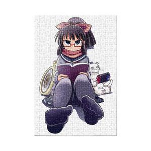 暇劇、柊りん(冬制服A:パズル)