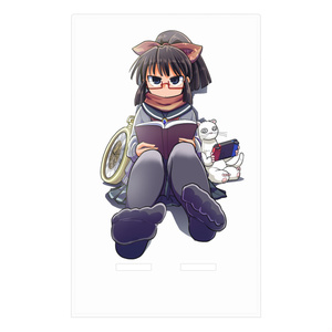 暇劇、柊りん(冬制服A:アクリルスマホスタンド)