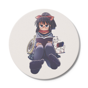 暇劇、柊りん(冬制服A:コースター)