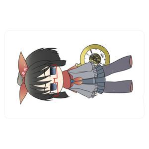 暇劇、柊りん(デフォルメ四種:ICカードステッカー)