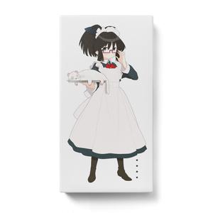 暇劇、柊りん(メイド服:モバイルバッテリー)