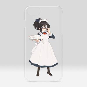 暇劇、柊りん(メイド服:クリアiPhoneケース)