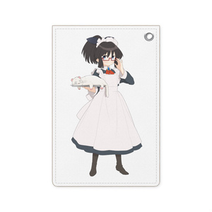 暇劇、柊りん(メイド服:パスケース)