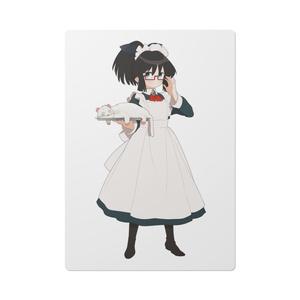 暇劇、柊りん(メイド服:下敷き)