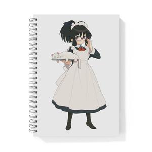 暇劇、柊りん(メイド服:リングノート)