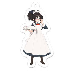 暇劇、柊りん(メイド服:アクリルキーホルダー)