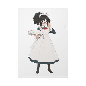 暇劇、柊りん(メイド服:クリアファイル)