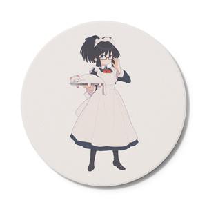暇劇、柊りん(メイド服:コースター)