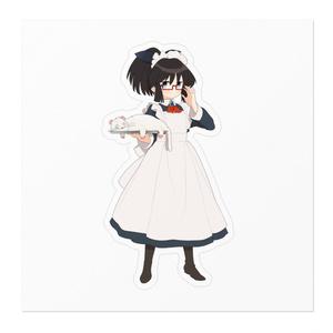 暇劇、柊りん(メイド服:ステッカー)