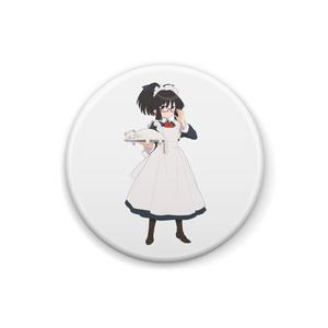 暇劇、柊りん(メイド服:缶バッジ)