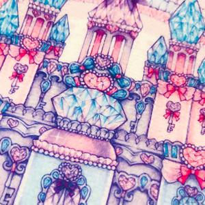 魔法のお城のミニハンカチタオル