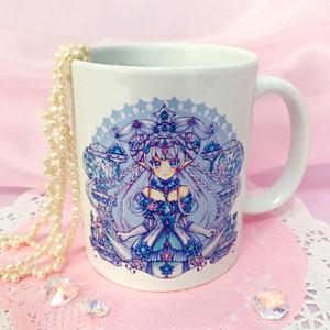 紫水晶のお姫様◆マグカップ