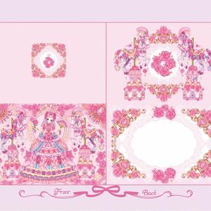 マリー・アントワネットの招待状 グリーティングカード【カード単品】