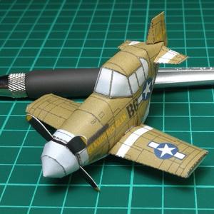 ペーパークラフトP-51B