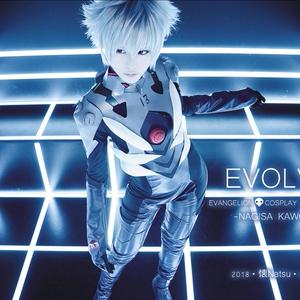【通常通販開始】渚カヲル中心 コスプレ写真集「EVOLVE」 エヴァンゲリオン