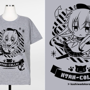 猫耳響Tシャツ