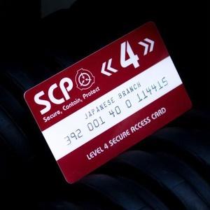 SCP財団 認証カード