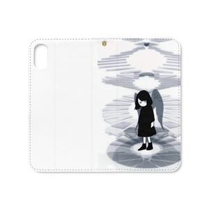 二重螺旋☆手帳型iPhoneケース(ベルトなし)各種