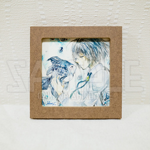 金魚王子の悲恋【透明水彩原画】