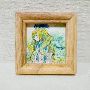ちいさなアリスの肖像【透明水彩原画】